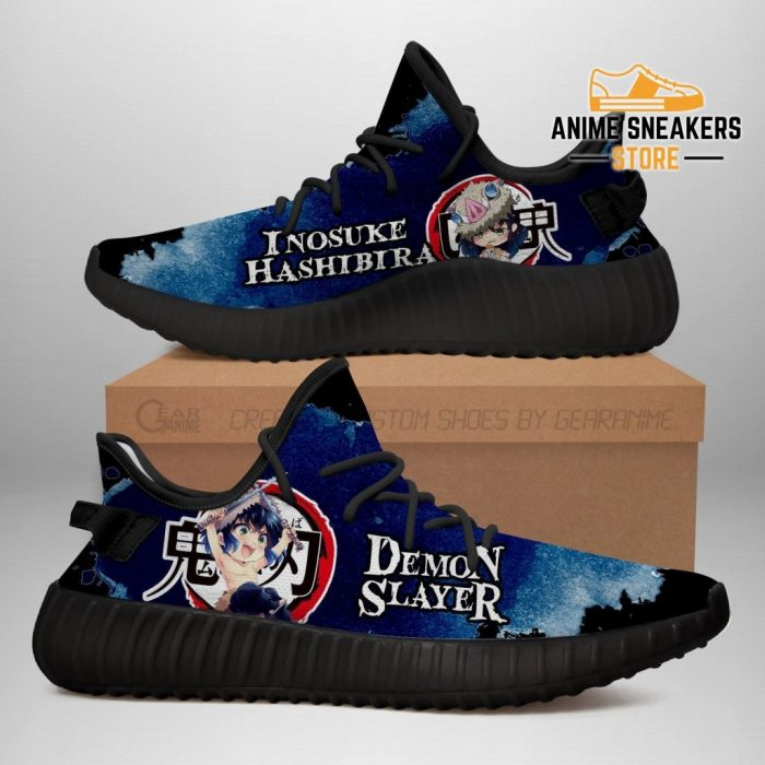 Inosuke Yeezy Shoes Demon Slayer Anime Sneakers Fan Gift Tt04 Men / Us6