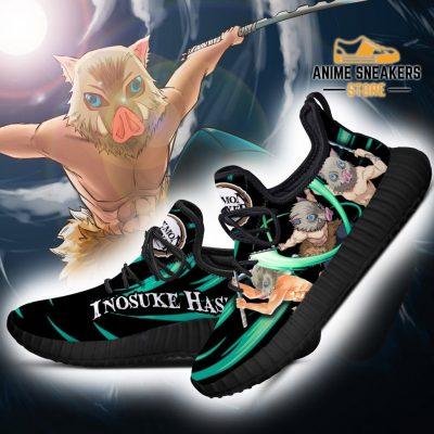 Demon Slayer Inosuke Hashibira Reze Shoes Custom Anime Sneakers