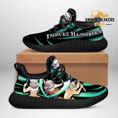 Demon Slayer Inosuke Hashibira Reze Shoes Custom Anime Sneakers Men / Us6