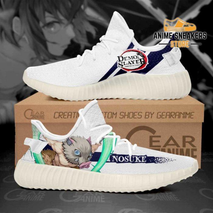 Demon Slayer Shoes Inosuke Hashibira Custom Anime Sneakers Men / Us6 Yeezy