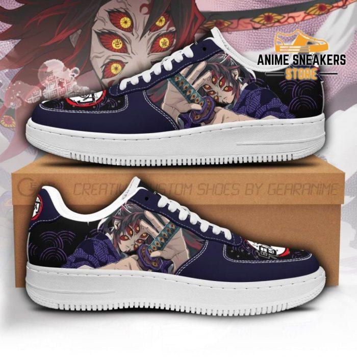 Kokushibou Sneakers Custom Demon Slayer Anime Shoes Fan Pt05 Men / Us6.5 Air Force
