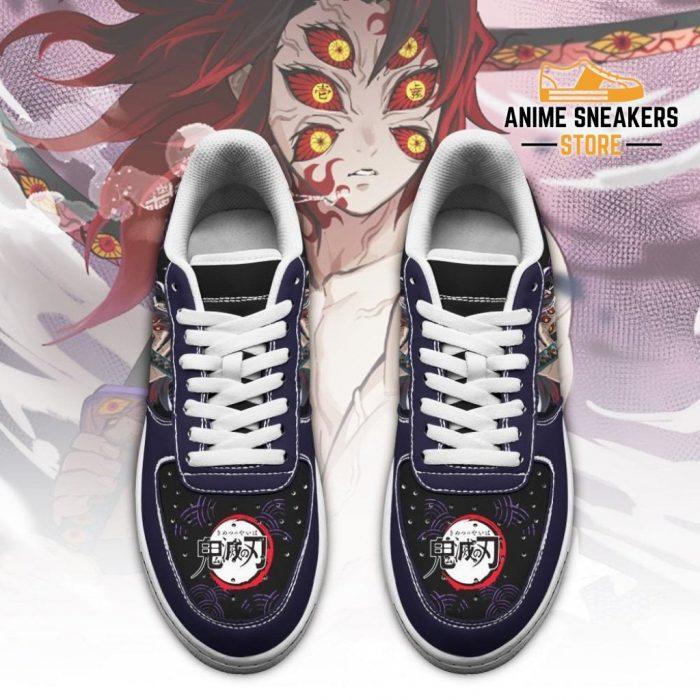 Kokushibou Sneakers Custom Demon Slayer Anime Shoes Fan Pt05 Air Force