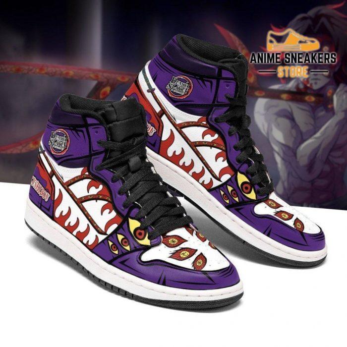 Kokushibou Sneakers Costume Demon Slayer Anime Shoes Mn04 Jd