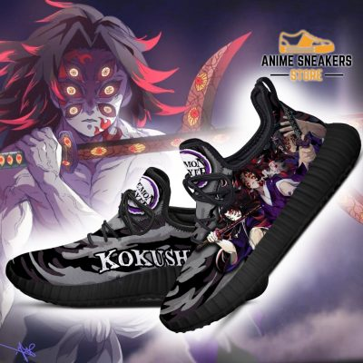 Demon Slayer Kokushibou Reze Shoes Custom Anime Sneakers