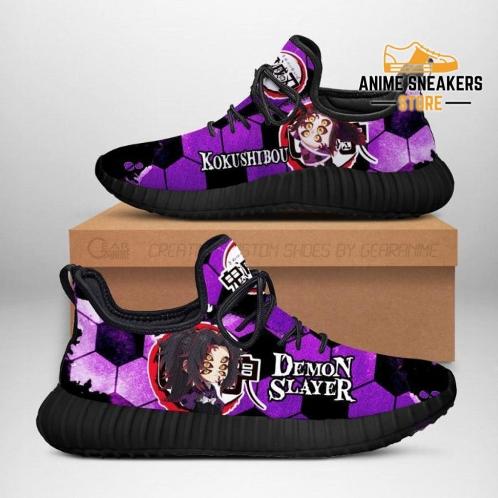 Demon Kokushibou Reze Shoes Slayer Anime Sneakers Fan Gift Idea Men / Us6