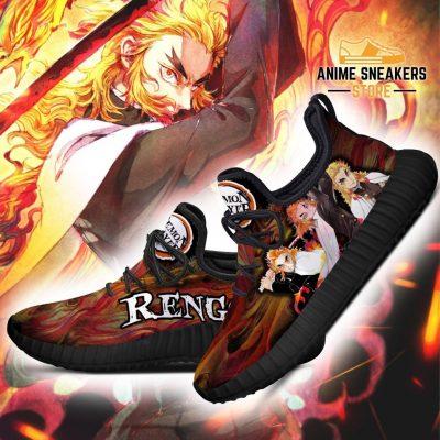 Demon Slayer Kyojuro Rengoku Reze Shoes Custom Anime Sneakers