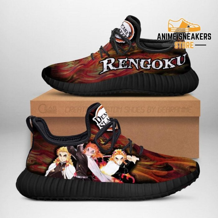 Demon Slayer Kyojuro Rengoku Reze Shoes Custom Anime Sneakers Men / Us6