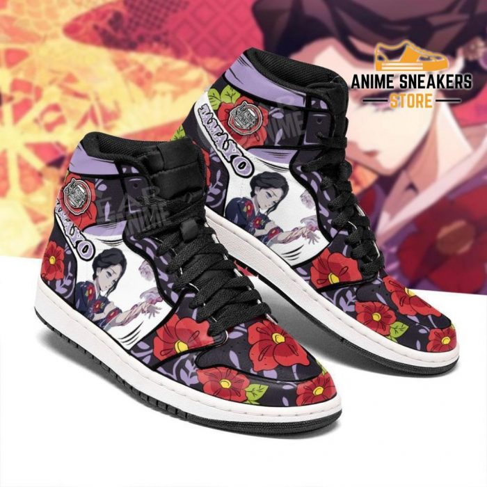 Lady Tamayo Shoes Boots Demon Slayer Anime Sneakers Fan Gift Idea Jd