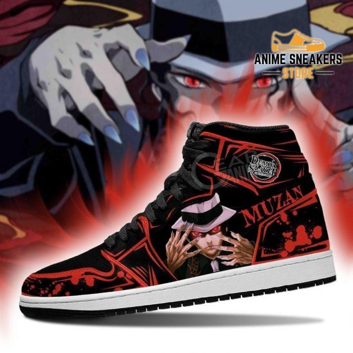 Lord Muzan Shoes Boots Demon Slayer Anime Sneakers Fan Gift Idea Jd