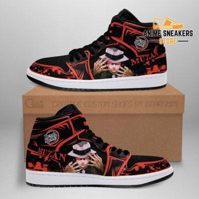 Lord Muzan Shoes Boots Demon Slayer Anime Sneakers Fan Gift Idea Men / Us6.5 Jd