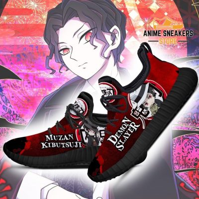 Lord Muzan Kibutsuji Reze Shoes Demon Slayer Anime Sneakers Fan Gift Idea
