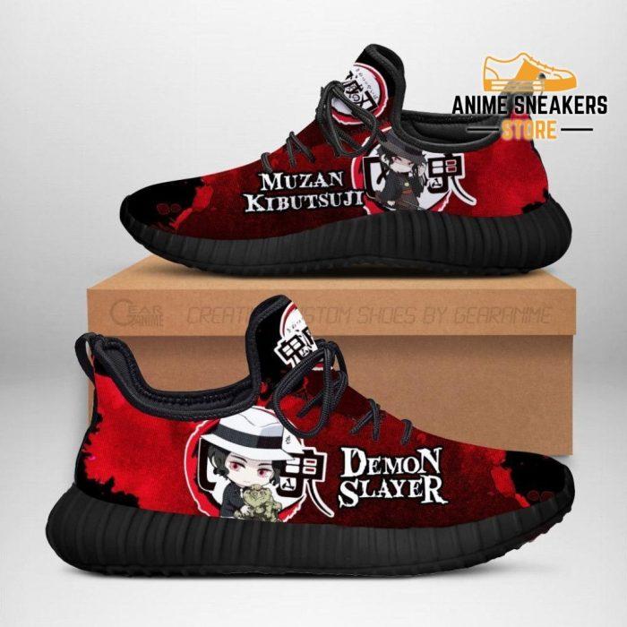 Lord Muzan Kibutsuji Reze Shoes Demon Slayer Anime Sneakers Fan Gift Idea Men / Us6