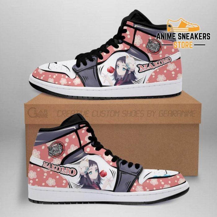 Makomo Shoes Boots Demon Slayer Anime Sneakers Fan Gift Idea Men / Us6.5 Jd