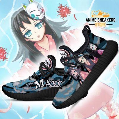 Demon Slayer Makomo Reze Shoes Custom Anime Sneakers Costume