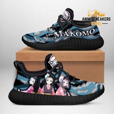 Demon Slayer Makomo Reze Shoes Custom Anime Sneakers Costume Men / Us6