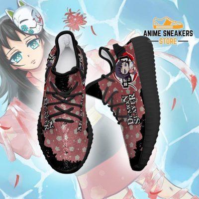 Makomo Yeezy Shoes Demon Slayer Anime Sneakers Fan Gift Tt04