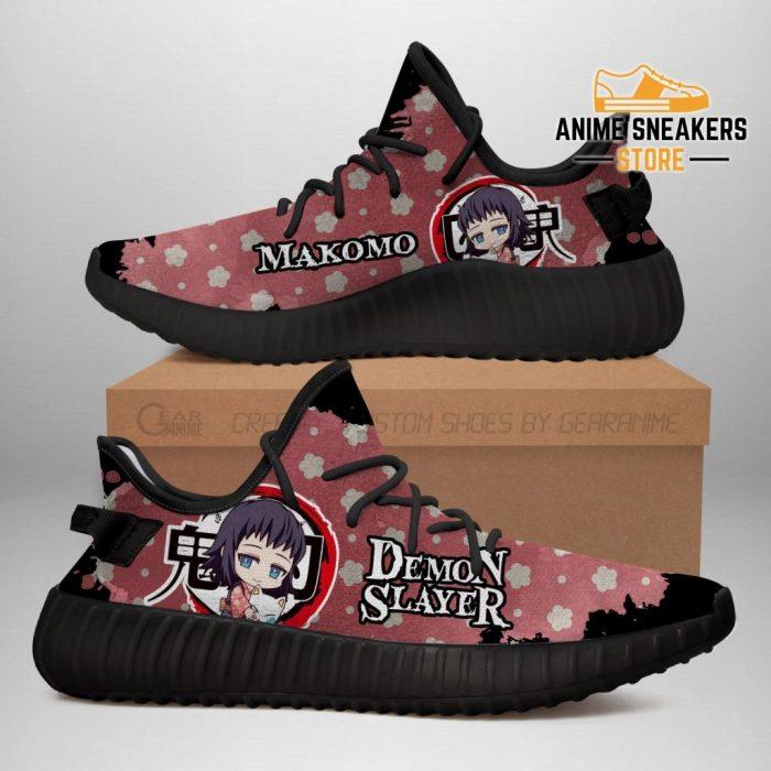 Makomo Yeezy Shoes Demon Slayer Anime Sneakers Fan Gift Tt04 Men / Us6