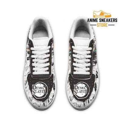 Demon Slayer Sneakers Manga Anime Shoes Fan Gift Idea Tt04 Air Force