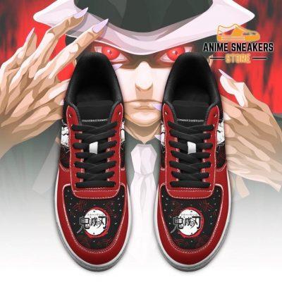 Muzan Sneakers Custom Demon Slayer Anime Shoes Fan Pt05 Air Force