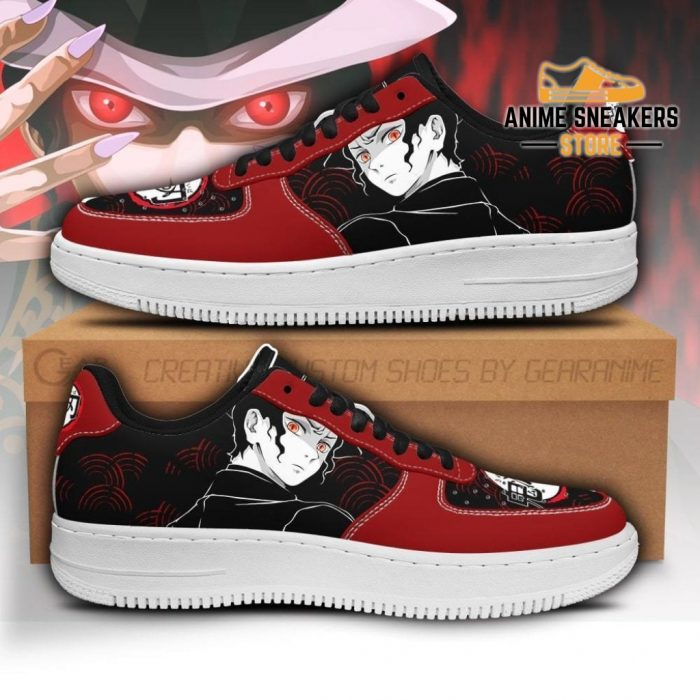 Muzan Sneakers Custom Demon Slayer Anime Shoes Fan Pt05 Men / Us6.5 Air Force