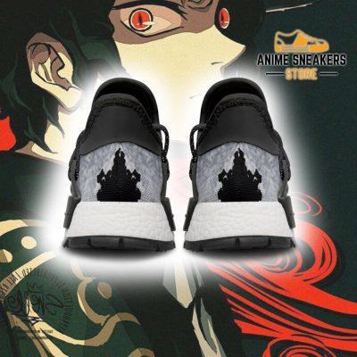 Muzan Kibutsuji Shoes Custom Demon Slayer Anime Sneakers Nmd