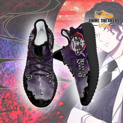 Muzan Kibutsuji Yeezy Shoes Demon Slayer Anime Sneakers Fan Gift Tt04