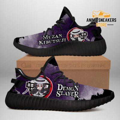 Muzan Kibutsuji Yeezy Shoes Demon Slayer Anime Sneakers Fan Gift Tt04 Men / Us6