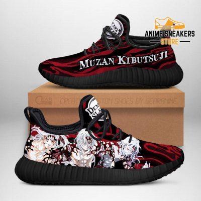 Demon Slayer Muzan Kibutsuji Reze Shoes Custom Anime Sneakers Men / Us6