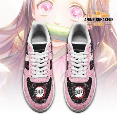 Nezuko Sneakers Custom Demon Slayer Anime Shoes Fan Pt05 Air Force