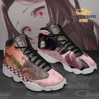 Nezuko Sneakers Demon Slayer Custom Anime Shoes Mn10 Jd13