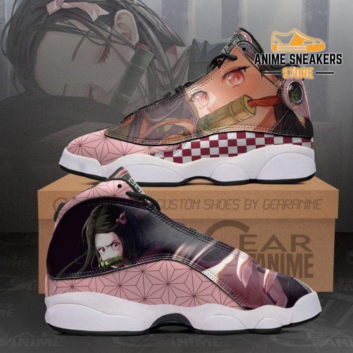 Nezuko Sneakers Demon Slayer Custom Anime Shoes Mn10 Men / Us6 Jd13