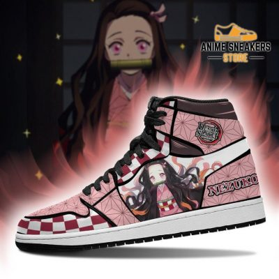Nezuko Sneakers Costume Demon Slayer Anime Shoes Mn04 Jd