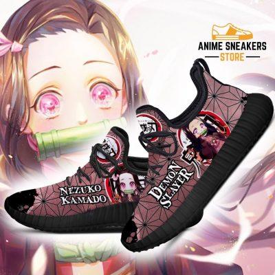 Nezuko Reze Shoes Costume Demon Slayer Anime Sneakers Fan Gift Idea