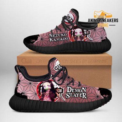 Nezuko Reze Shoes Costume Demon Slayer Anime Sneakers Fan Gift Idea Men / Us6