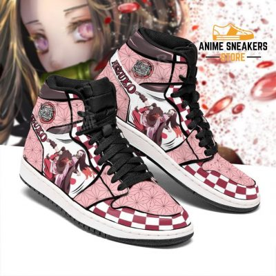 Nezuko Shoes Boots Skill Demon Slayer Anime Sneakers Fan Gift Idea Jd