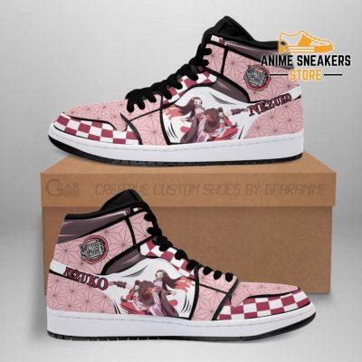 Nezuko Shoes Boots Skill Demon Slayer Anime Sneakers Fan Gift Idea Men / Us6.5 Jd