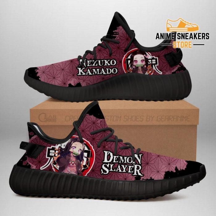 Nezuko Yeezy Shoes Demon Slayer Anime Sneakers Fan Gift Tt04 Men / Us6