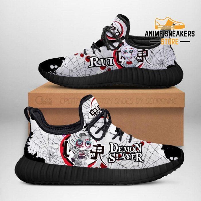 Demon Rui Reze Shoes Slayer Anime Sneakers Fan Gift Idea Men / Us6