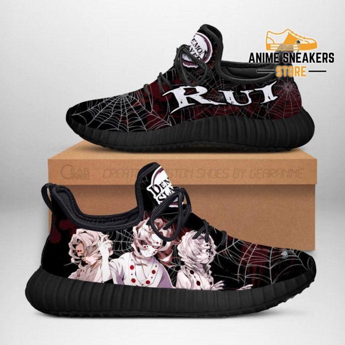 Demon Slayer Rui Reze Shoes Custom Anime Sneakers Costume Men / Us6
