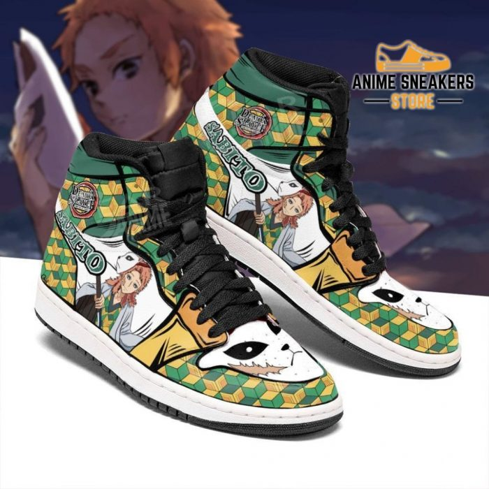 Sabito Shoes Boots Demon Slayer Anime Sneakers Fan Gift Idea Jd