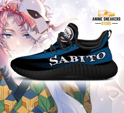 Demon Slayer Sabito Reze Shoes Custom Anime Sneakers Costume
