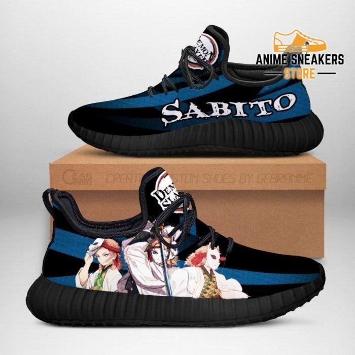 Demon Slayer Sabito Reze Shoes Custom Anime Sneakers Costume Men / Us6