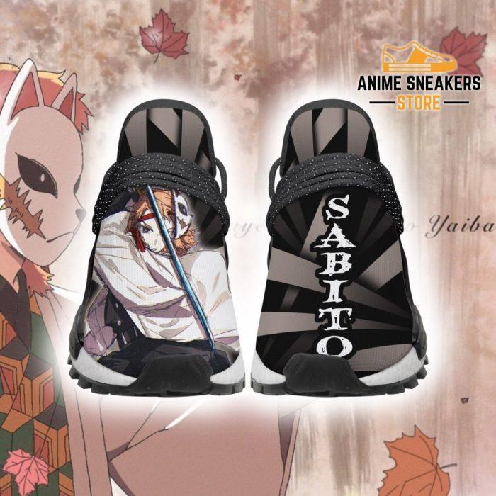 Demon Slayer Shoes Sabito Custom Skill Anime Sneakers Men / Us6 Nmd