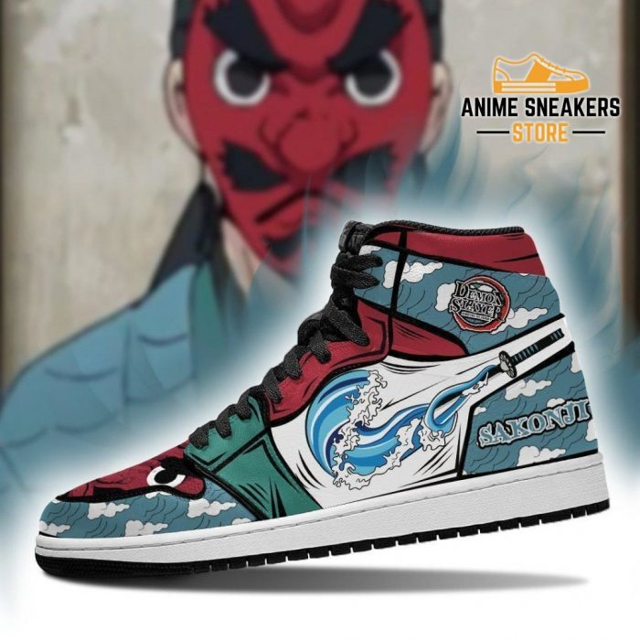 Sakonji Sneakers Costume Demon Slayer Anime Shoes Mn04 Jd