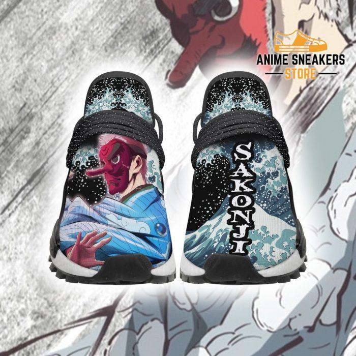 Demon Slayer Shoes Sakonji Skill Anime Sneakers Men / Us6 Nmd
