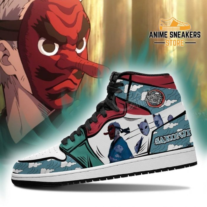 Sakonji Urokodaki Shoes Boots Demon Slayer Anime Sneakers Fan Gift Idea Jd