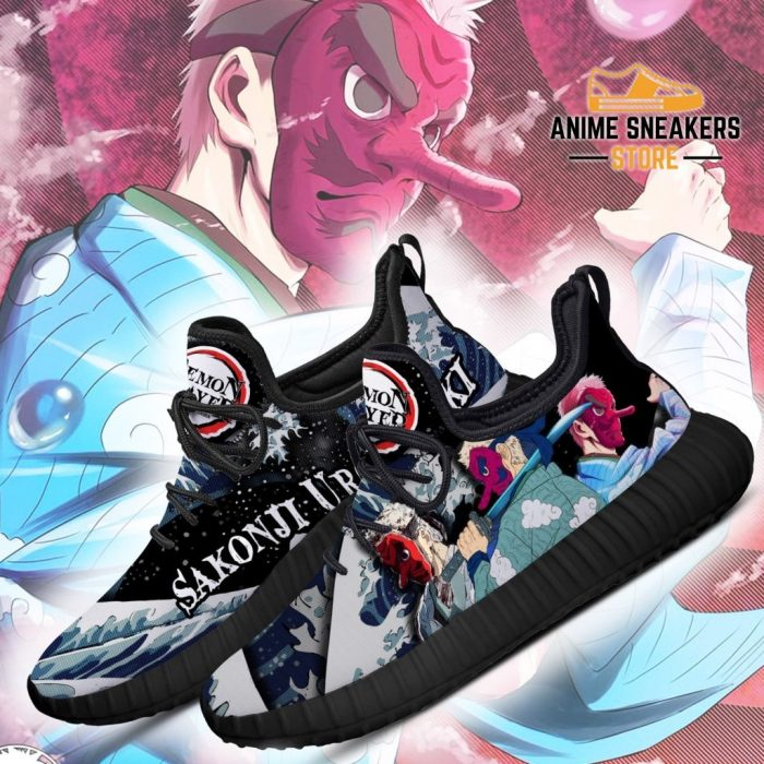 Demon Slayer Sakonji Urokodaki Reze Shoes Custom Anime Sneakers
