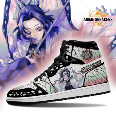 Shinobu Kocho Shoes Boots Demon Slayer Anime Sneakers Fan Gift Idea Jd