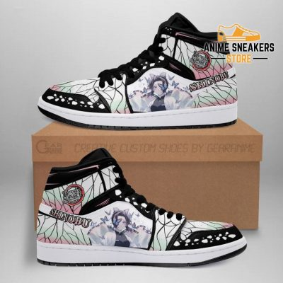 Shinobu Kocho Shoes Boots Demon Slayer Anime Sneakers Fan Gift Idea Men / Us6.5 Jd