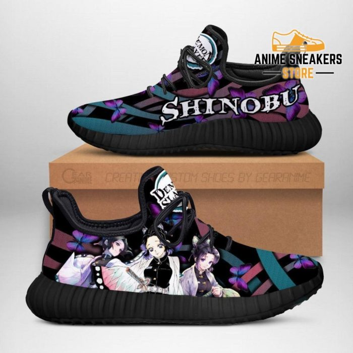Demon Slayer Shinobu Kocho Reze Shoes Custom Anime Sneakers Men / Us6